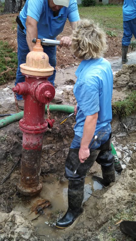 Hydrant Replacement in Varnville