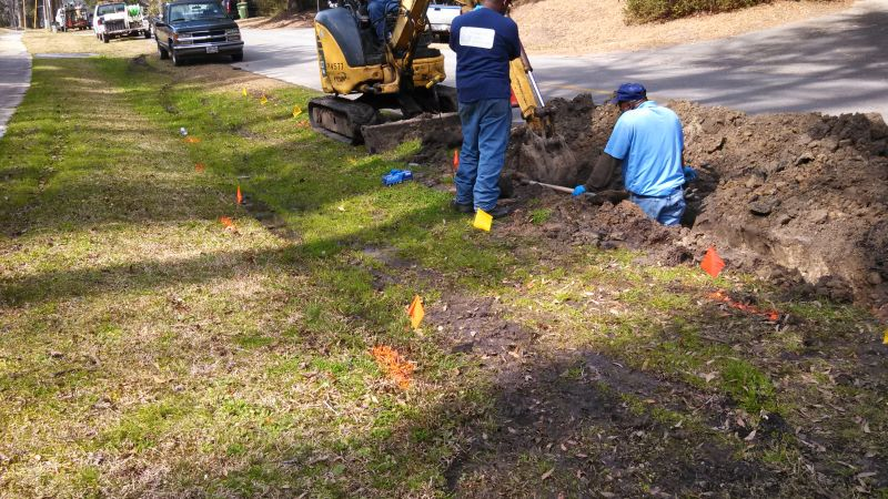 Sewer Main Replacement in Yemassee